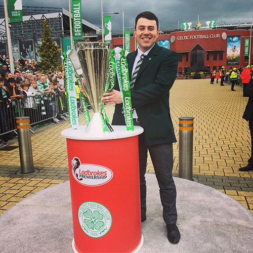 Matthew Campbell, Celtic Football Club, Tour Guide
