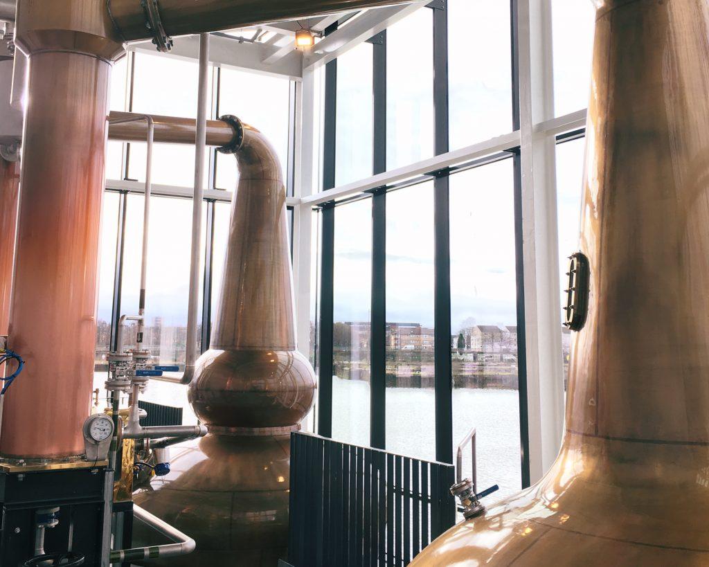 Inside Clydeside Distillery - Glasgow tours